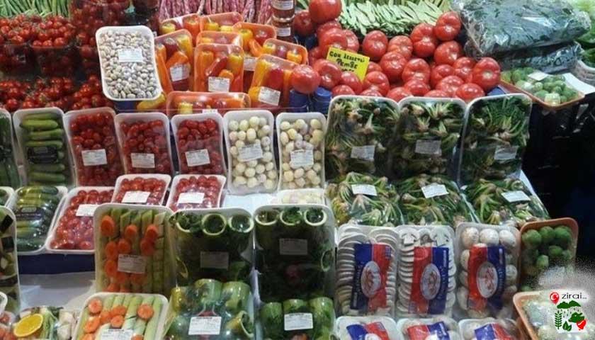 ambalajlı sebze meyve