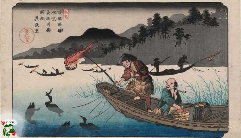 Asırlar önce çinde balıkçılık